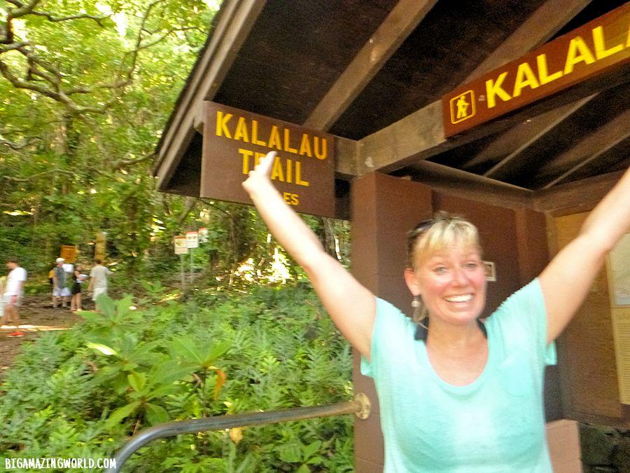 Napali Coast Kauai Hawaii Kalalau Trail