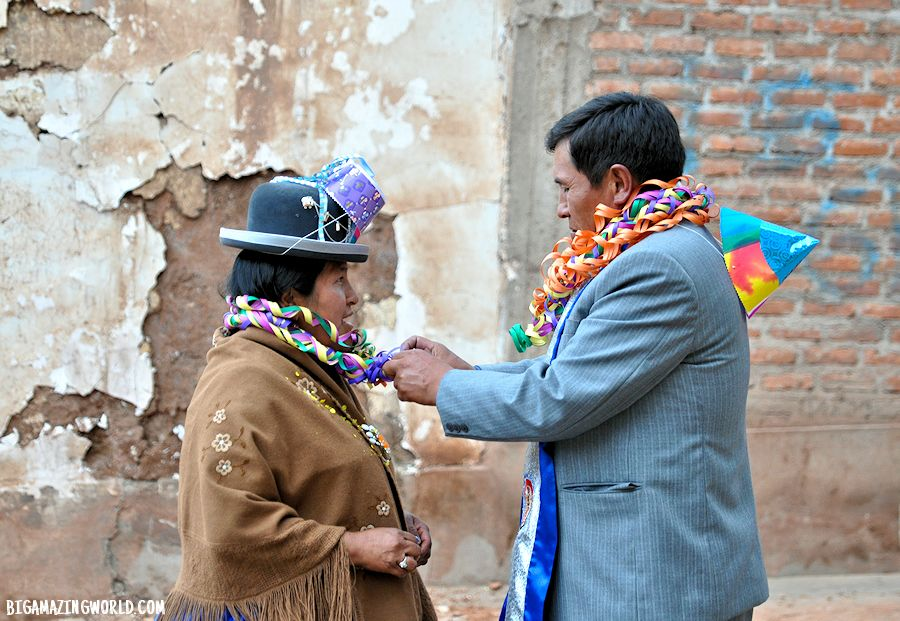 Virgin of Candelaria Festival in Puno Peru